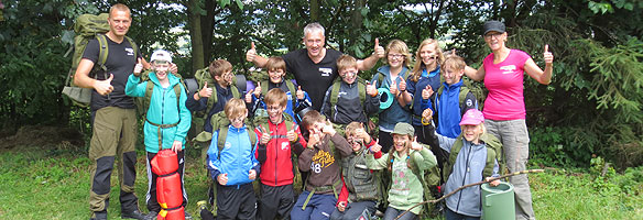 Survival-Camp für Kinder